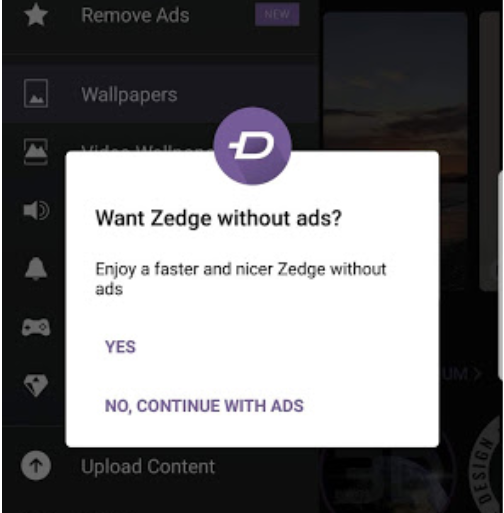 zedge_without_Ads_promo.png